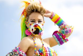 Lady Casa Spreads EDM's PLUR Message