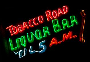 Tobacco Road Closing on October 25