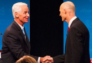 Fangate: Crist and Scott Still Tied