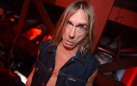 Thumbnail for Iggy Pop The Flash Collection Launch Party at the Garrett