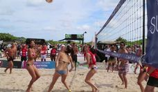 The Sun-Kissed People of Model Beach Volleyball 2015