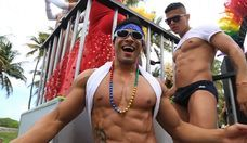 Werking It at Miami Beach Gay Pride Parade 2015