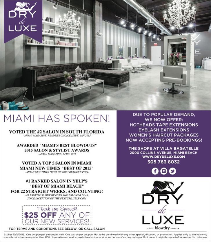 Dry de Luxe Blowdry Lounge and Spa