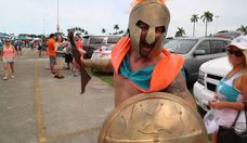 Tailgating With Miami Dolphins Fans at Sun Life Stadium