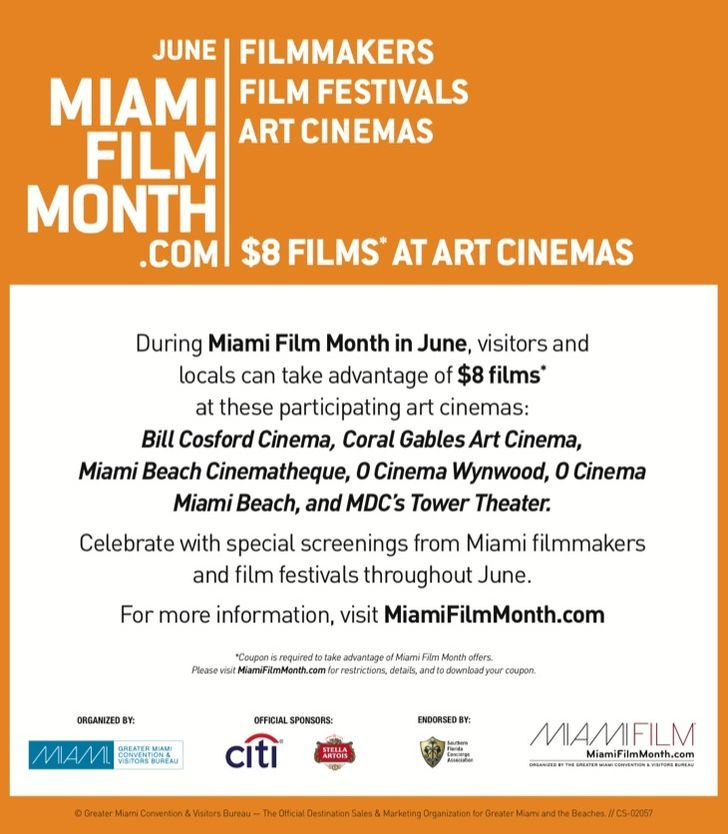 GMCVB Miami Film Month