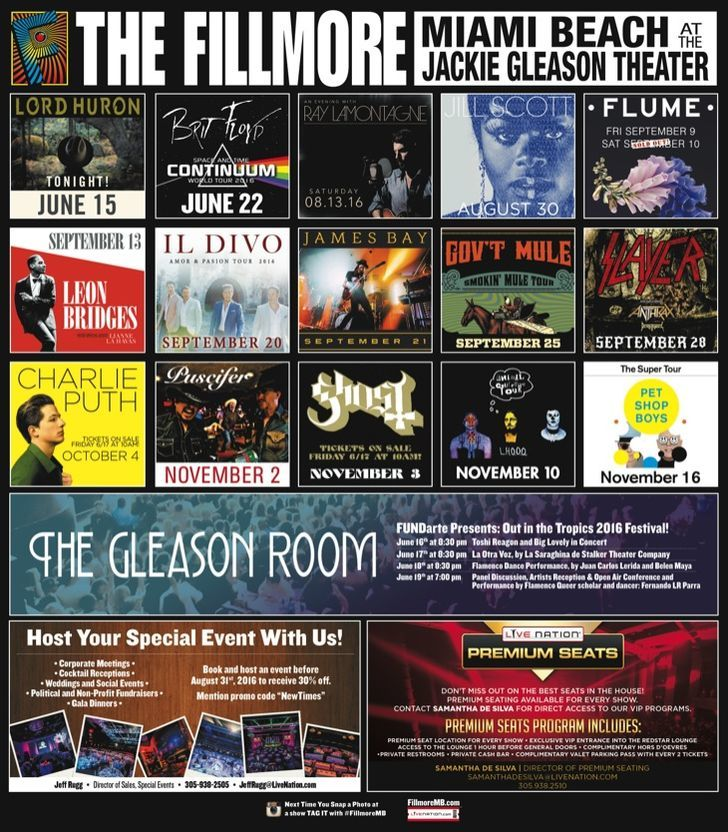 Live Nation- The Fillmore