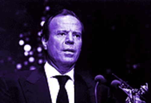 Julio Iglesias is popular with the kids, despite those Pink Floyd bastards and slack promotion by Sony's Tommy Mottola