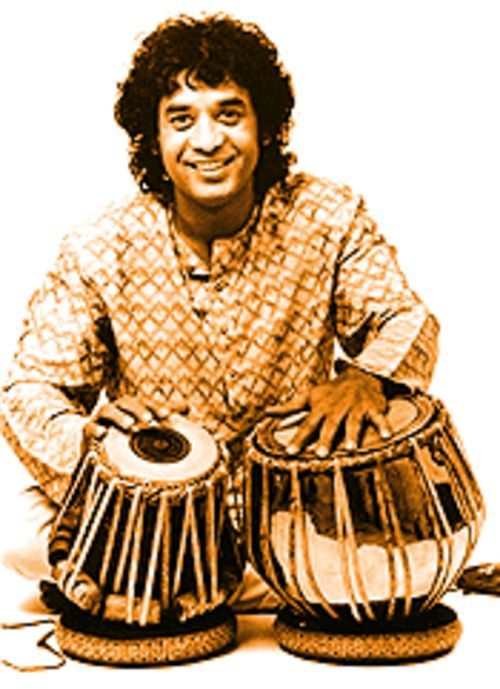 Zakir Hussain may have played with the stars of British rock and roll, but his heart is still in India