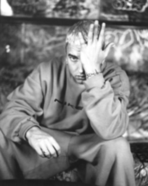 Eminem, troubled in paradise
