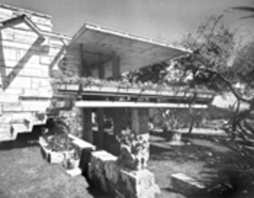Holy architectural genius! The 1954 home Alfred Browning Parker and his first wife  Martha built when Robin was eight years old