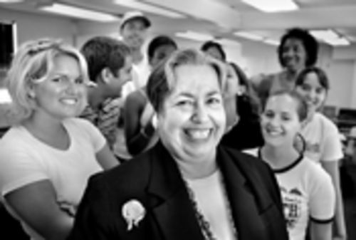Former school board member Rosa Castro Feinberg, now a professor at FIU, is proud that she helped put an end to paddling