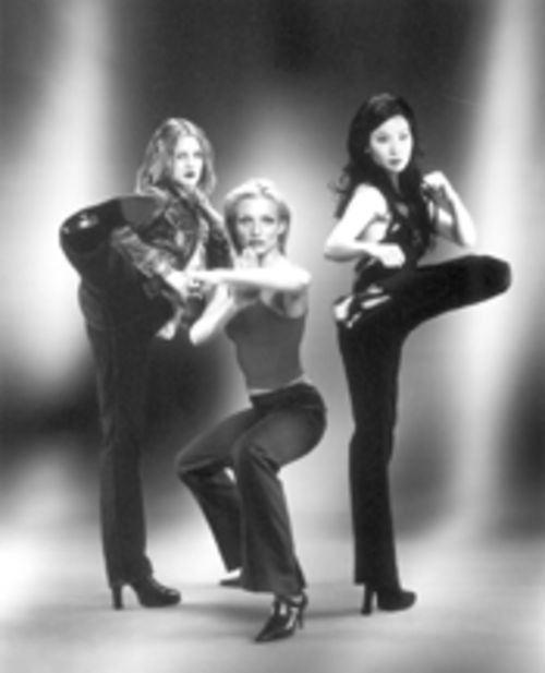 Judo chop! Barrymore, Diaz, and Liu punch, kick, and jiggle their way to mediocrity in Charlie's Angels