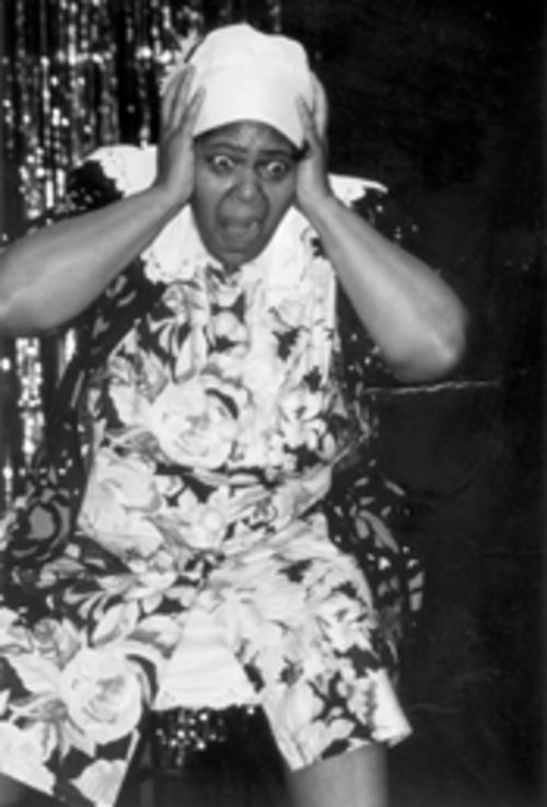 Live at the Apollo here in Miami: Bukanla does Jackie Mabley