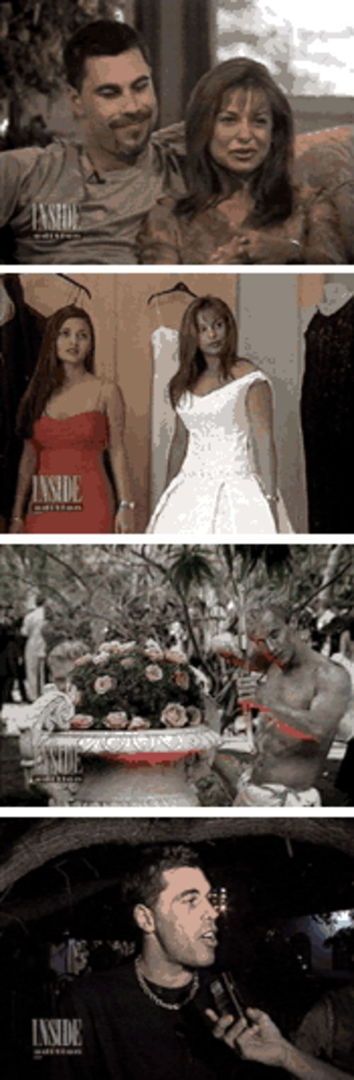 The wedding that wasn't became fodder for tabloid TV when Inside Edition broadcast the extravagant bash