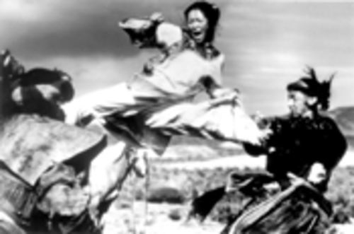 Jen (Zhang Ziyi) flies through the air with the greatest of ease