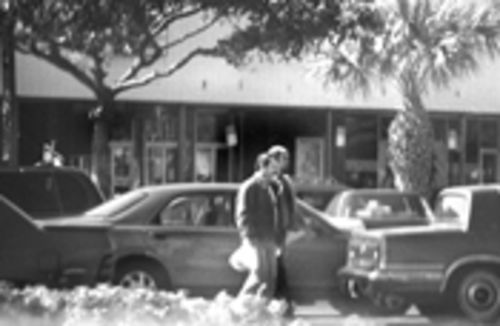 An FBI agent snapped this photo of Fernando Gonzalez and Hernandez on a stroll in Miami in January 1998