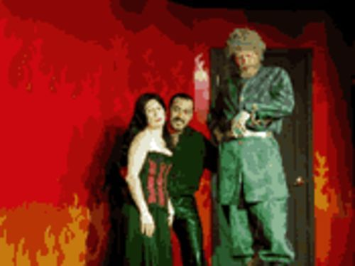 Don Juan in Hell, but Rosalie Grant, Robert Hooker, and Jim Gibbons onstage