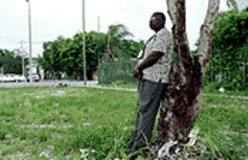 When Irby McKnight ponders the CRA's millions and Overtown's landscapes, something just doesn't add up