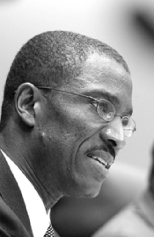 Joe Celestin, the embattled mayor of North Miami