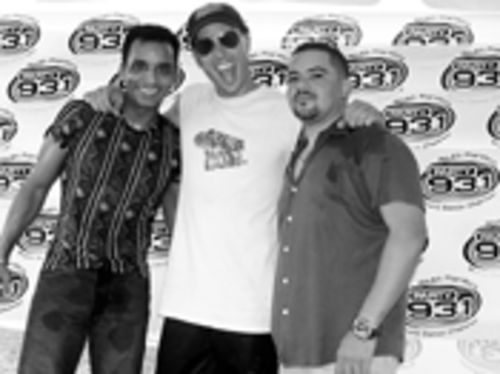 Jon Secada (left), Buster, and George Acosta are poised to take over the world