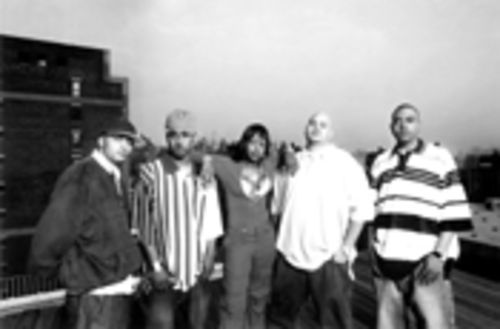 Season of the Terror Squad: Tony Sunshine (left), Prospect,  Remy Martin, Fat Joe, and Armageddon