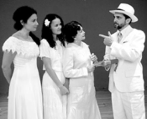 Sevan (left), Rodriguez, Rojas, and Julian simmer in a stew of romance and melodrama.