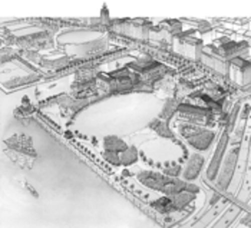 Parks advocates wonder if Museum Park will really be as idyllic as this 2001 rendering by Dover, Kohl & Partners