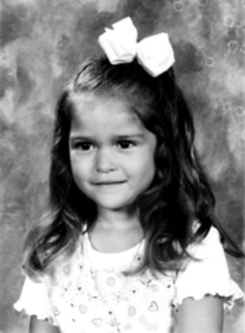 Four-year-old Rainey Hillman in September 2002, five months before she  drowned