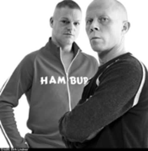 The men of Erasure: Andy Bell (left) and Vince Clarke