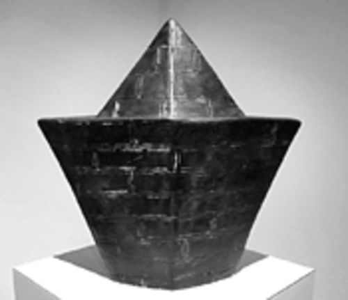 Laura Luna's boat drawing (below) resembles Leonel  Matheu's boat sculpture (above), but is she copying  his idea?
