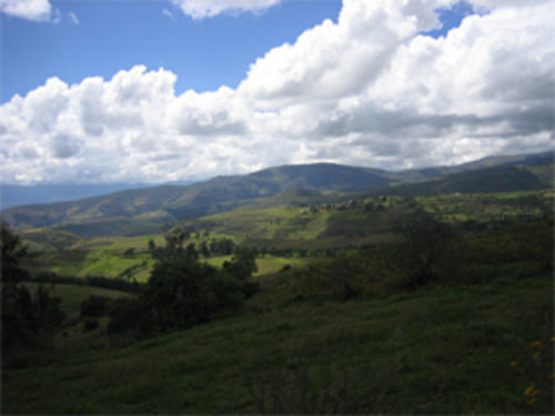 The massacre took place in the lush, isolated valley of Quebrada de Huancayoc