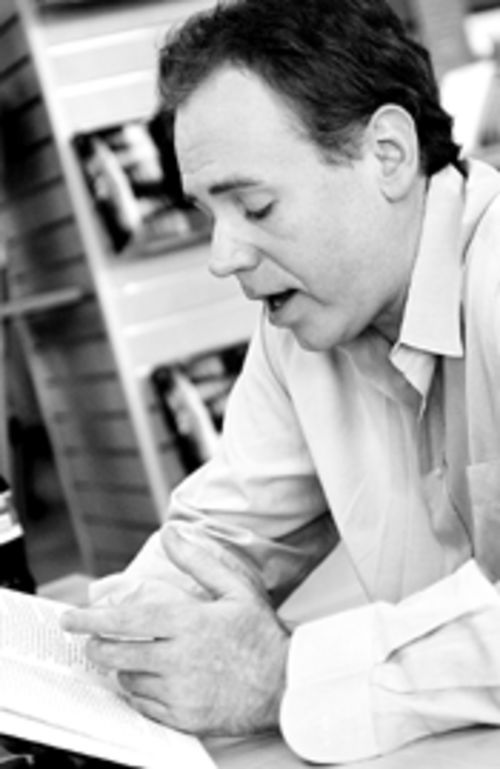 Bret Easton Ellis at the University of Miami bookstore