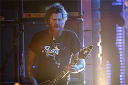 Mastodon's Brent Hinds performing live on Human  Giant's 24-hour marathon on MTV: A sign of the  apocalypse?