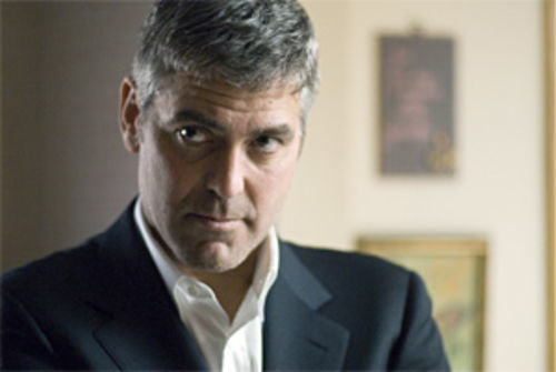 Clooney as Clayton: Doing wonders with those eyelids