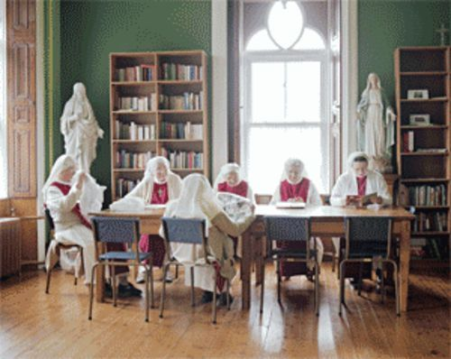Jackie Nickerson's photos of nuns are among the most magnetic portraits on display