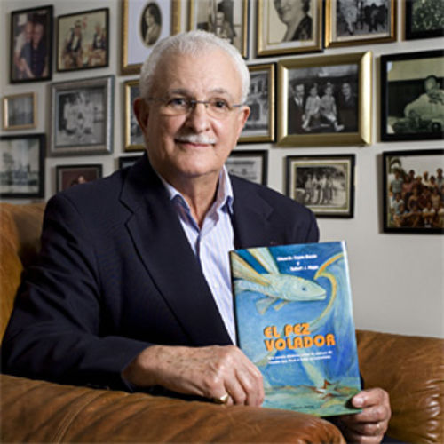 Eduardo Zayas-Bazán spent more than two decades working on a fictional book based on his time as a frogman.