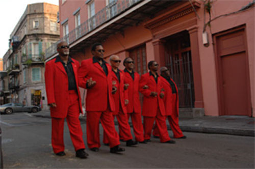 The Blind Boys of Alabama, walking strong since 1939.