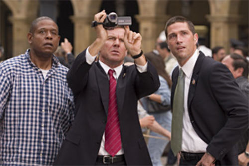 "Dennis Quaid to Forest Whitaker and Matthew Fox: ""I knew we should've upgraded from Beta."""