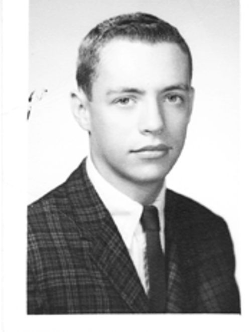 Robb Annable (in a high school photo from 1962) became  politically active after his brother's disappearance