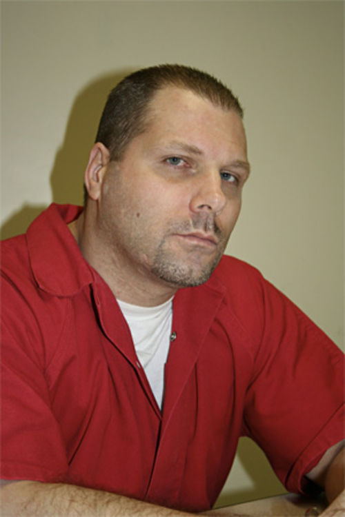Paul Brandreth in late January 2008, when he spoke with New Times at the Metro West Detention Center in Miami-Dade County.