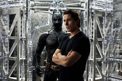 Christian Bale and his gravelly voice return The Dark Knight Rises.