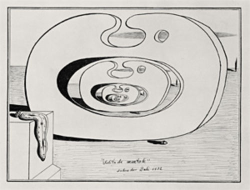 Salvador Dalí's Mental Solitude (1932)