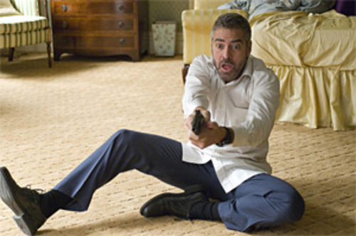 George Clooney: Surprise! Amicably rancid charm can't save this film.