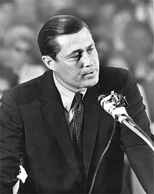 Gissendanner campaigns for Congress in 1969.