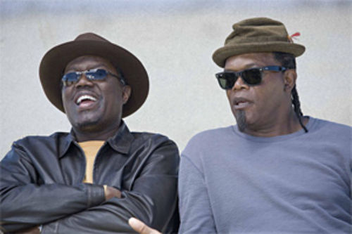 Bernie Mac (left) and Samuel L. Jackson