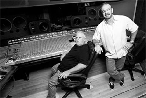 "Brothers Ron (left) and Howard Albert invented the ""Fat Albert"" drum sound."