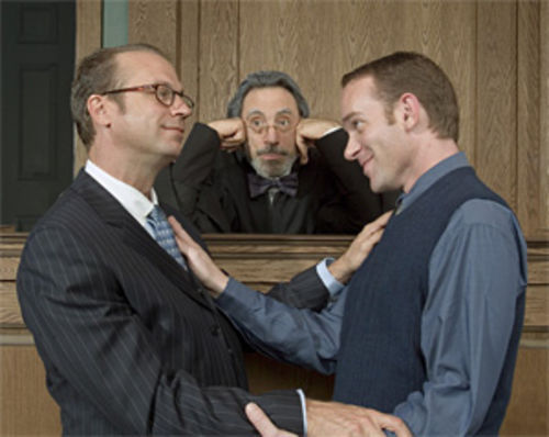 Joe Kimble (left), David Kwiat, and Matthew Glass in  Romance