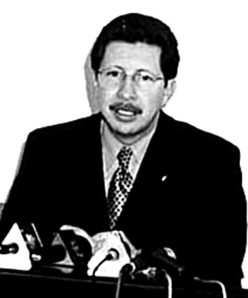 Carlos Sánchez Berzaín, the former defense minister of Bolivia