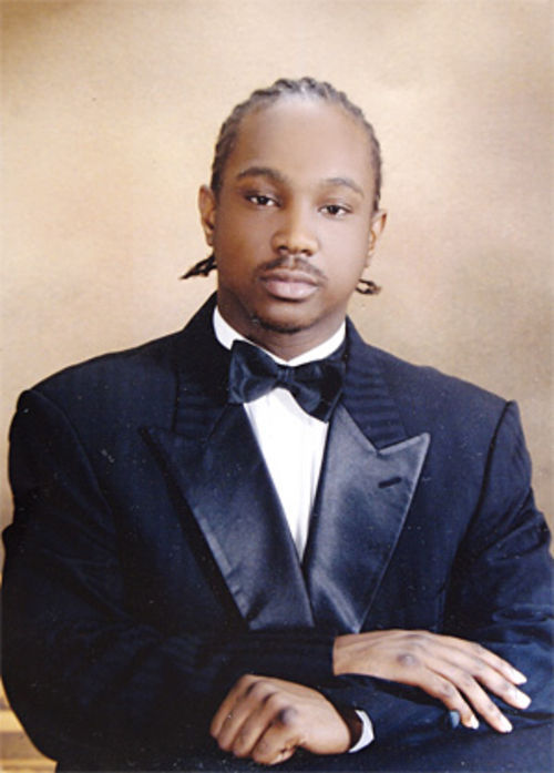 Jeffrey Johnson Jr. looks tough in a tux.