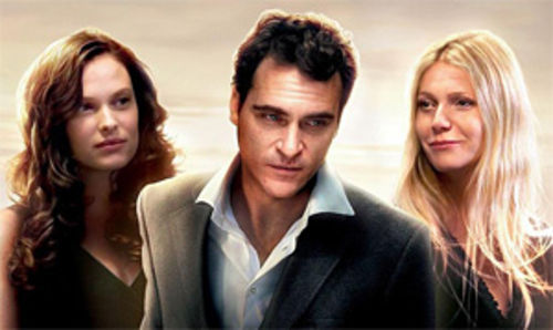 Vinessa Shaw, Joaquin Phoenix, and Gwyneth Paltrow